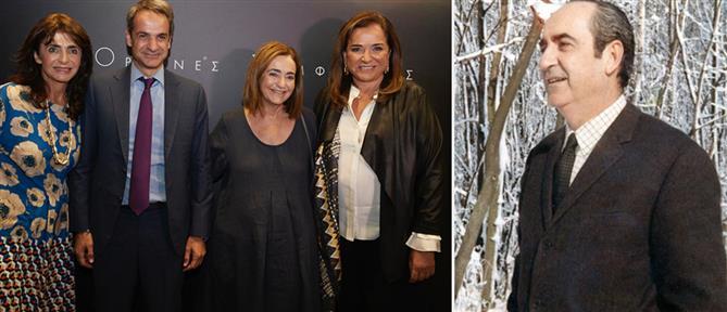 """""""Ορεινές Συμφωνίες"""": Ο Μητσοτάκης στην πρεμιέρα της ταινίας για τον πατέρα του"""