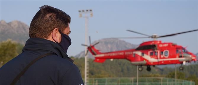 Καρδίτσα: καρέ - καρέ η επιχείρηση διάσωσης εγκλωβισμένων στην Οξυά