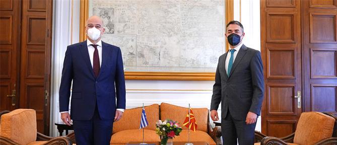 Δένδιας σε Ντιμιτρόφ: Στηρίζουμε την ευρωπαϊκή προοπτική των Δυτικών Βαλκανίων