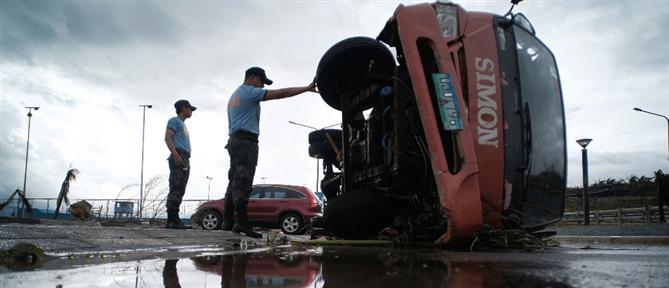 Φονικός τυφώνας στις Φιλιππίνες (βίντεο)