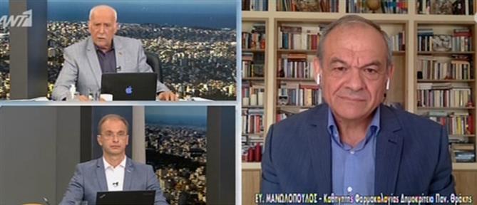 Μανωλόπουλος για εμβόλιο AstraZeneca: η Επιτροπή μπέρδεψε τον κόσμο (βίντεο)