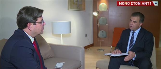 Ο Όφερ Ακούνις στον ΑΝΤ1 για τις τουρκικές προκλήσεις (βίντεο)