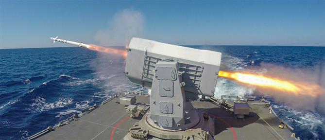 """""""Λόγχη"""": εντυπωσιακή η ναυτική άσκηση δυτικά της Κρήτης (εικόνες)"""