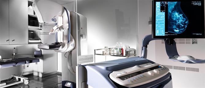 Ψηφιακή μαστογραφία με έγχυση σκιαγραφικού
