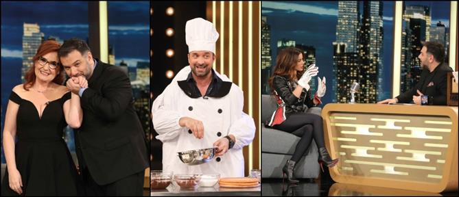 """The 2Night Show"": εκμυστηρεύσεις και… γέλιο στην εκπομπή της Τετάρτης (εικόνες)"