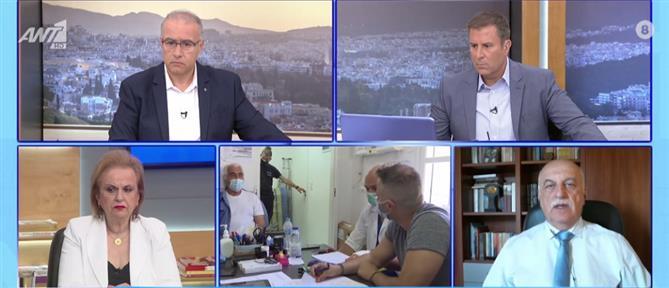 Κορονοϊός - Τζανάκης στον ΑΝΤ1: Ανοσία της τάξεως του 50% μέσα στον Ιούλιο
