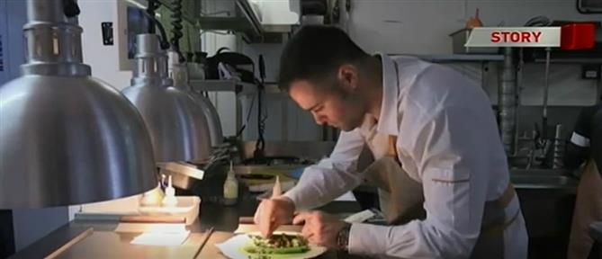 Ασημάκης Χανιώτης: ο νεότερος σεφ του Λονδίνου με αστέρι Michelin, μιλά στον ΑΝΤ1 (βίντεο)