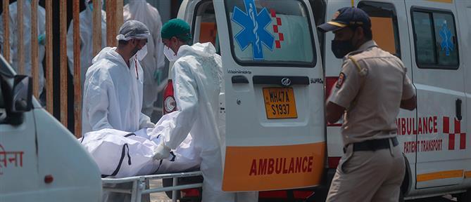 Κορονοϊός – Ινδία: Ρεκόρ θανάτων το προηγούμενο 24ωρο