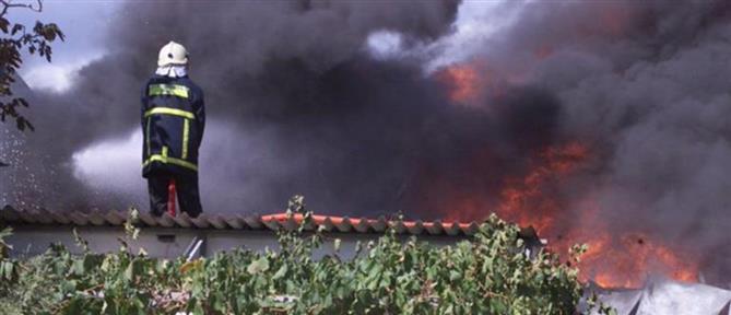 Μεγάλη φωτιά στην Κρήτη