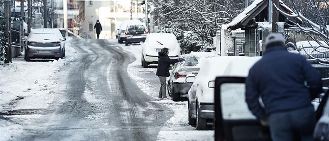 """Κακοκαιρία """"Λέανδρος"""": Πολικές θερμοκρασίες στην χώρα"""