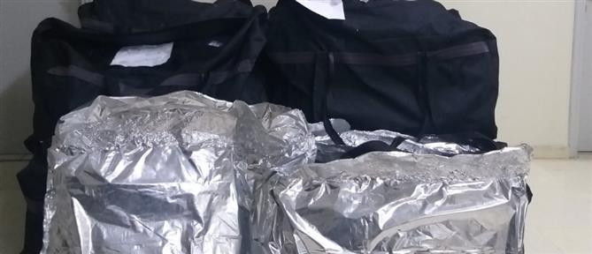 Θεσπρωτία: καταδίωξη και εντοπισμός μεγάλης ποσότητας ναρκωτικών (εικόνες)