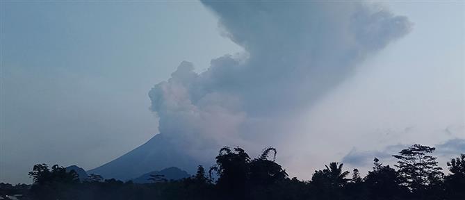 Εξερράγη το ηφαίστειο Λεβοτόλο