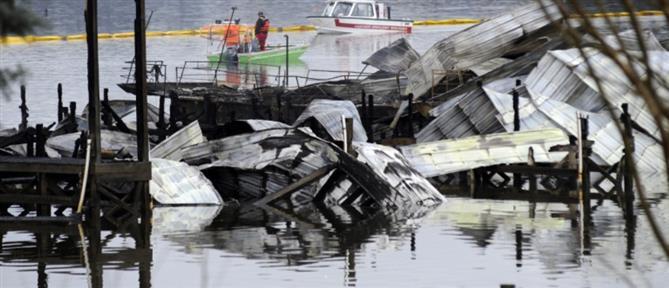 Τραγωδία: Φονική φωτιά σε σκάφη (εικόνες)