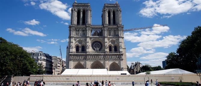 Παναγία των Παρισίων: Ανοιχτό για το κοινό το προαύλιο της Νοτρ Νταμ