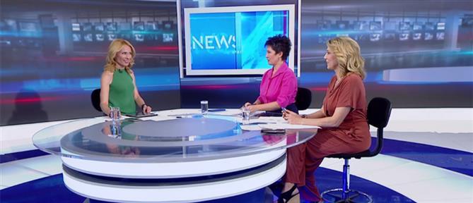 Καββαδία-Καραμανλή στον ΑΝΤ1 για το διακύβευμα των εκλογών