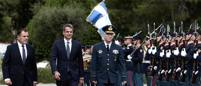 Mητσοτάκης: απόλυτη η επιχειρησιακή ετοιμότητα των Ενόπλων Δυνάμεων