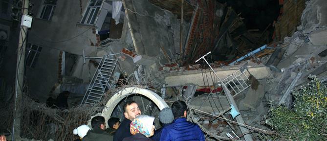 Μεγάλος σεισμός στην ανατολική Τουρκία