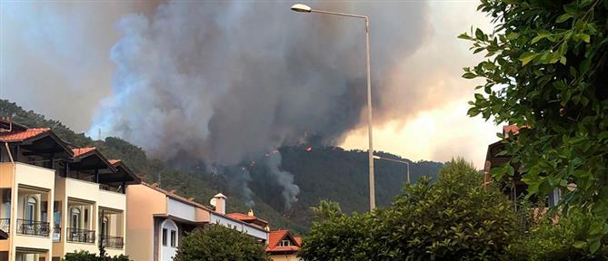 Φωτιές στην Τουρκία: Εφιάλτης χωρίς τέλος στην Αττάλεια (εικόνες)