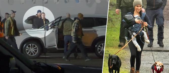 Τέλος εποχής: Στον Καναδά ο Χάρι, βόλτα με τον Άρτσι η Μέγκαν (εικόνες)