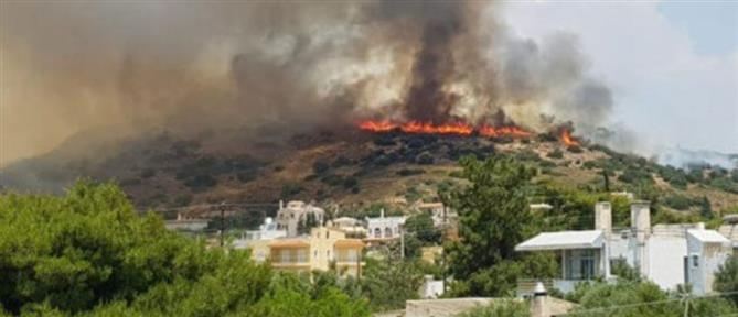 Φωτιά στο Λαγονήσι
