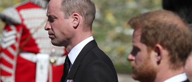 Κηδεία Πρίγκιπα Φιλίππου: Το παρασκήνιο της συνάντησης Ουίλιαμ - Χάρι