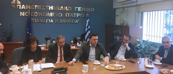 Κικίλιας από Πάτρα: η υγεία στην Ελλάδα θα είναι δημόσια και δωρεάν