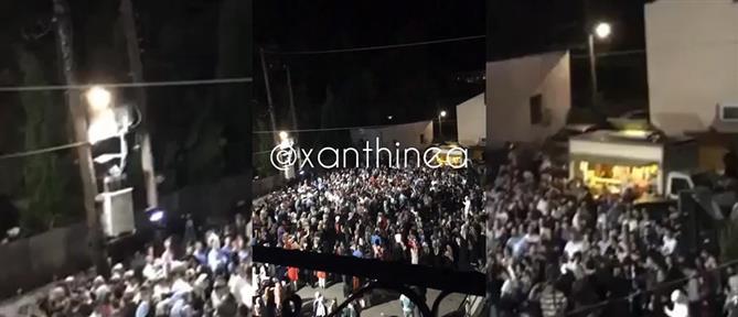 Κορονοϊός: απίστευτος συνωστισμός σε γλέντια, σε περιοχή που βγήκε από καραντίνα! (εικόνες)