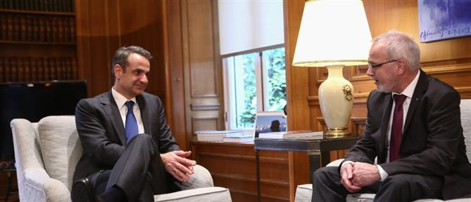 Μητσοτάκης - Χόγιερ: κοινή φιλοδοξία για την ελληνική οικονομία το 2020