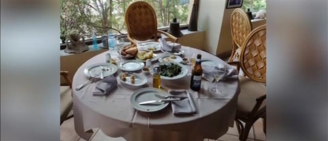 """""""Λουκέτο"""" σε ανοιχτό εστιατόριο της Γλυφάδας (βίντεο)"""