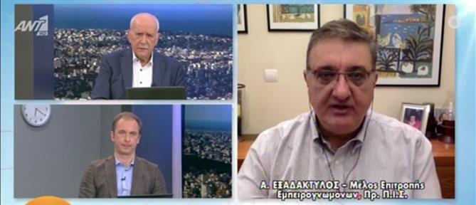 Κορονοϊός - Εξαδάκτυλος στον ΑΝΤ1: Μας ανησυχεί το άνοιγμα της αγοράς (βίντεο)