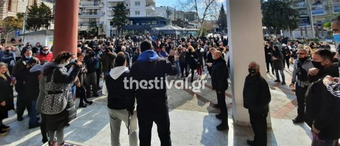 Εύοσμος: Έντονες αντιδράσεις για το lockdown