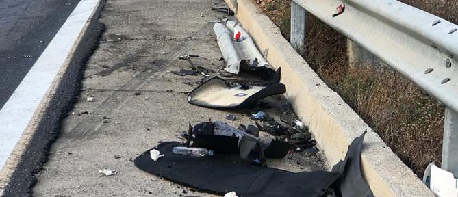 Νεκρός οδηγός που έπεσε σε μπάρες