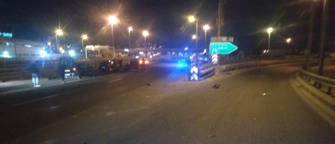 Σοβαρό τροχαίο με αστυνομικούς στην Εθνική Οδό (εικόνες)