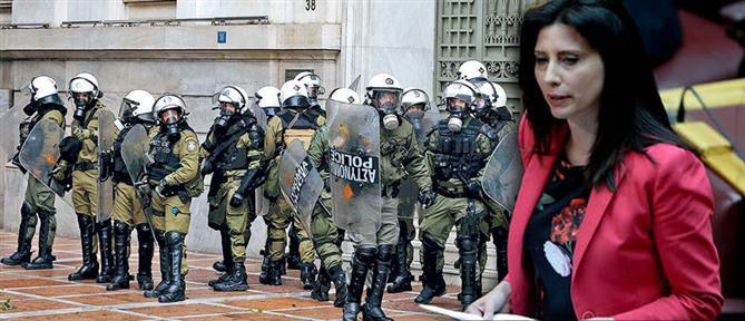 Κασιμάτη στον ΑΝΤ1: δεν είχα στόχο να θίξω τους αστυνομικούς (βίντεο)