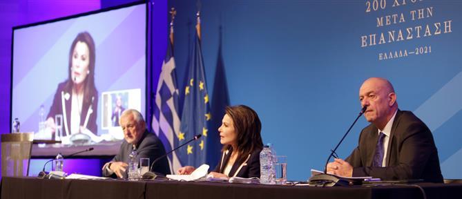 """""""Ελλάδα 2021"""": Τους πολιτικούς αρχηγούς συναντά η Γιάννα Αγγελοπούλου"""