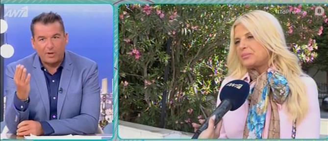 """Μαρίνα Πατούλη στο """"Πρωινό"""": Απαντά στην Περιφέρεια που την αναφέρει με το πατρικό της επώνυμο (βίντεο)"""