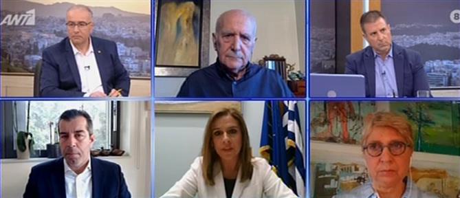 Ράπτη στον ΑΝΤ1: κανείς ασθενής που χρειάστηκε ΜΕΘ δεν έμεινε εκτός (βίντεο)