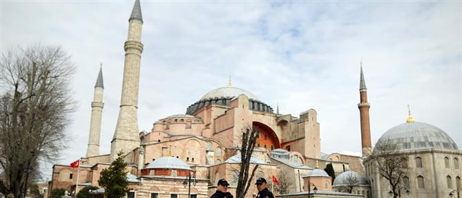 Μενδώνη για το σόου Ερντογάν: Η Αγία Σοφία ανήκει στην ανθρωπότητα