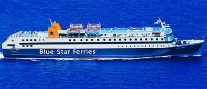 """Ρόδος: Το """"Blue Star 2"""" έδεσε στο λιμάνι μετά από… 9 ώρες"""