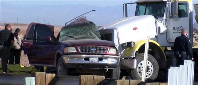 Πολύνεκρο τροχαίο: φορτηγό συγκρούστηκε με SUV