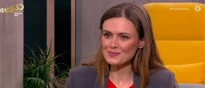 """Η Μαρκέλλα Γιαννάτου για την """"Γυναίκα χωρίς όνομα"""" και τα... μυστικά από τις """"Άγριες Μέλισσες"""" (βίντεο)"""