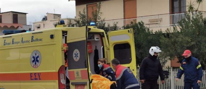 Λιποθύμησε οδηγός από φωτιά σε αυτοκίνητο εν κινήσει (εικόνες)