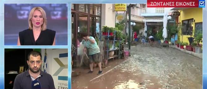 Σπανός στον ΑΝΤ1: έβρεξε πέντε φορές περισσότερο από τις προβλέψεις (βίντεο)