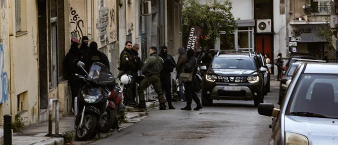 Αστυνομική επιχείρηση στα Εξάρχεια