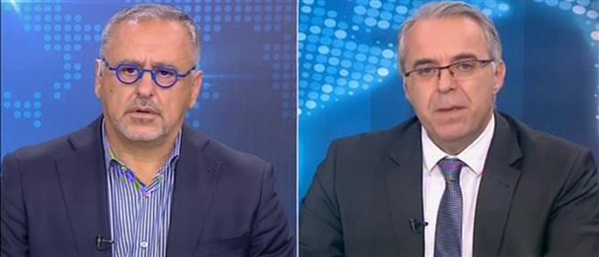 """Δελλατόλας - Αμυράς: Αν δεν εμβολιαστεί η κοινωνία, πρέπει να """"εμβολιαστεί"""" η οικονομία (βίντεο)"""