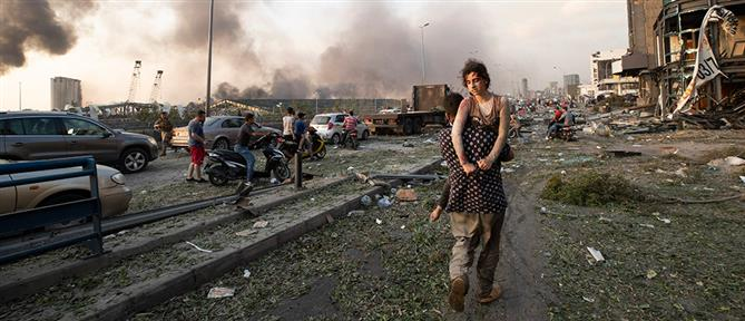 Σακελλαροπούλου: συγκλονισμένη από τις τραγικές εικόνες στη Βηρυτό