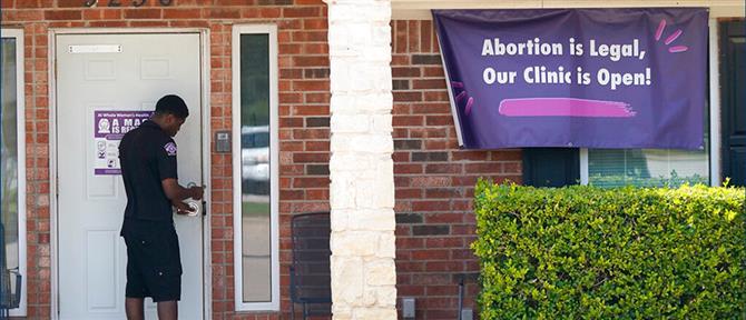 """Τέξας – άμβλωση: """"Μπλόκο"""" Μπάιντεν στο νόμο που την απαγορεύει"""