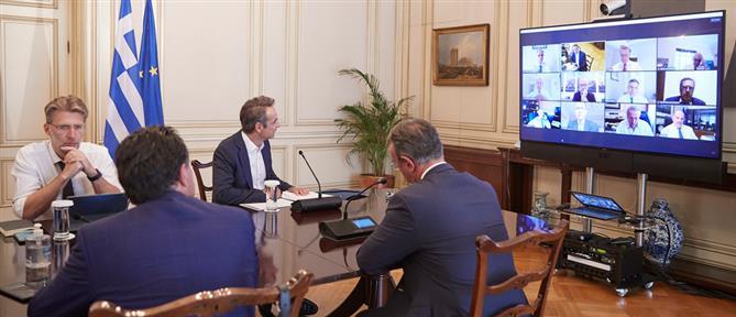 """Το """"νέο συμβόλαιο με την κοινωνία"""" παρουσίασε η """"Επιτροπή Πισσαρίδη"""" στον Μητσοτάκη"""