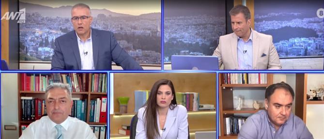 Κορονοϊός - Βασιλακόπουλος στον ΑΝΤ1: προσοχή για να μην υπάρχουν πισωγυρίσματα