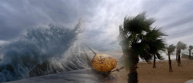 """""""Ιανός"""": ισχυρές καταιγίδες και θυελλώδεις άνεμοι την Παρασκευή"""